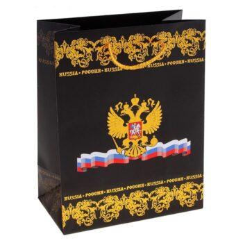 """700 2 2 350x350 - Пакет подарочный """"Россия"""" (тиснение)"""