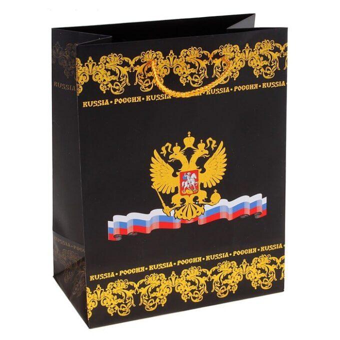 """700 2 2 680x680 - Пакет подарочный """"Россия"""" (тиснение)"""