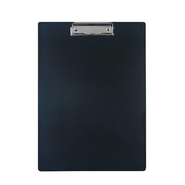Планшет inФОРМАТ А4 с зажимом, пластик черный