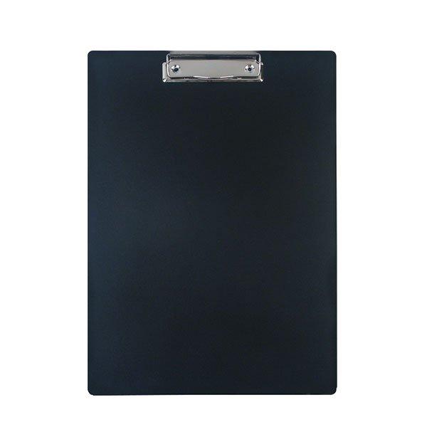 06d1fd7fec1f1e00b47ce39c849a1cd3 - Планшет inФОРМАТ А4 с зажимом, пластик черный