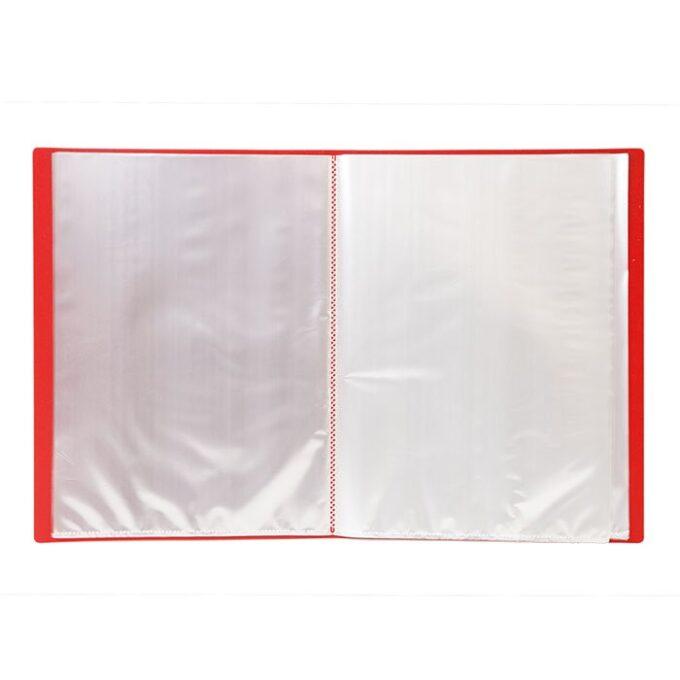 52ec0c067dd988095595c8d9a2d262c8 680x680 - Папка с файлами LITE А4 60 файлов красная пластик 500 мкм