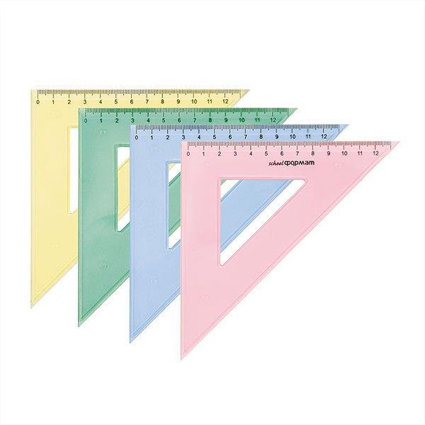 39e9d3cb790b31c64387ed7ca5755fef - Треугольник 45° 14 см, пластик