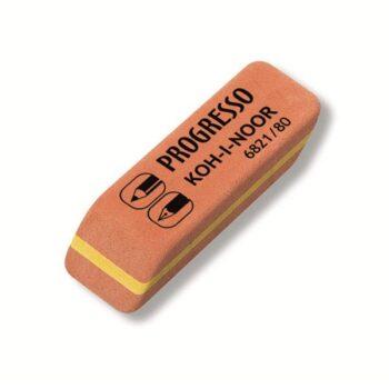 Ластик KOH-I-NOOR PROGRESSO 6821/80 (4B-6H) 41x14x8 мм, каучук