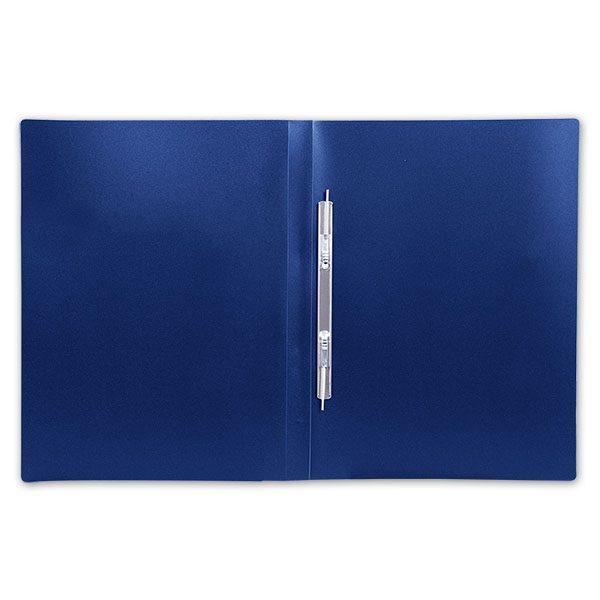 Папка-скоросшиватель inФОРМАТ А4, синяя, пластик 500 мкм