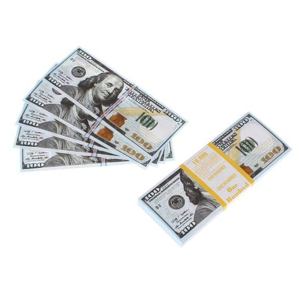 Пачка купюр 100 $, микс