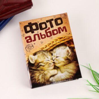 """700 350x350 - Фотоальбом """"Котики"""", 36 фото 10х15 см"""