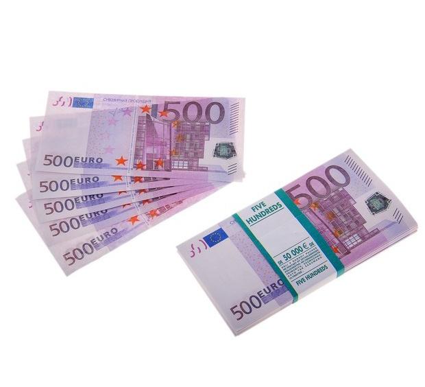 700 9 - Пачка купюр 500 евро