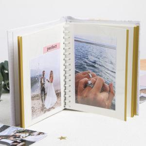 """Фотоальбом """"Этот счастливый день"""", 10 магнитных листов размером 12 х 18,7 см"""