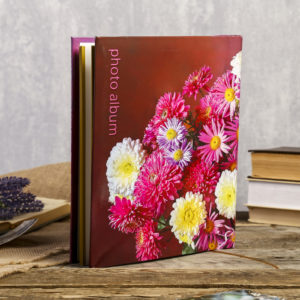 Фотоальбом магнитный 20 листов 23X28см,Bouquets