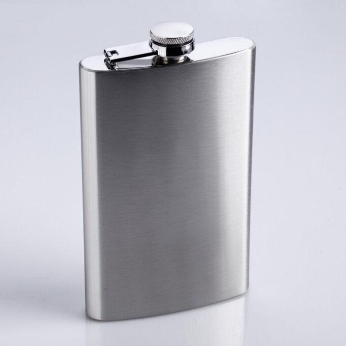 700 2 1 680x680 - Фляжка 300 мл, металл, 9.5х16 см с гравировкой