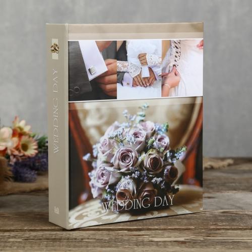 """44c107fc9382b1833407c39707a884b6 500x500 1 - Фотоальбом на 200 фото """"Свадебный день"""""""