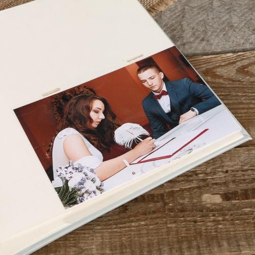 """9442d0f2697c32233fe4174eb747c189 500x500 1 - Фотоальбом Fotografia на 200 фото, 10x15 см., """"Свадебный"""""""