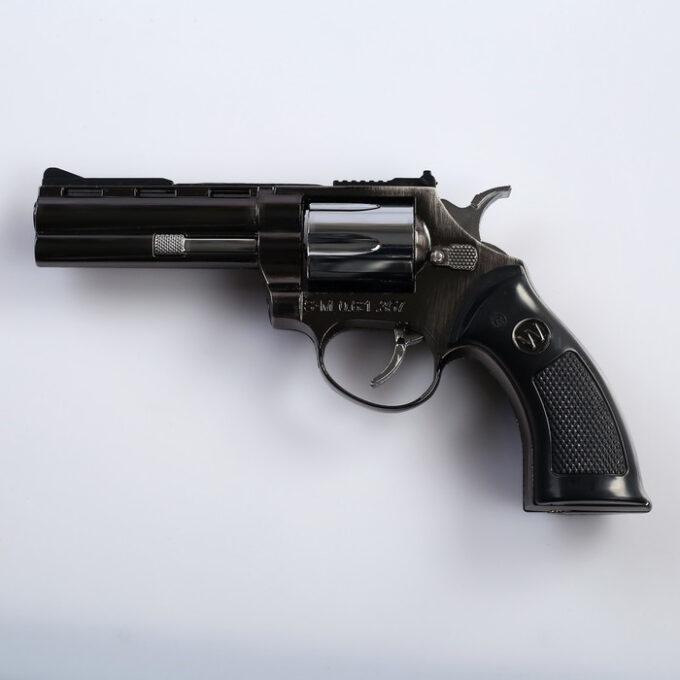 """700 6 680x680 - Зажигалка газовая """"Пистолет"""", в кобуре, пьезо"""