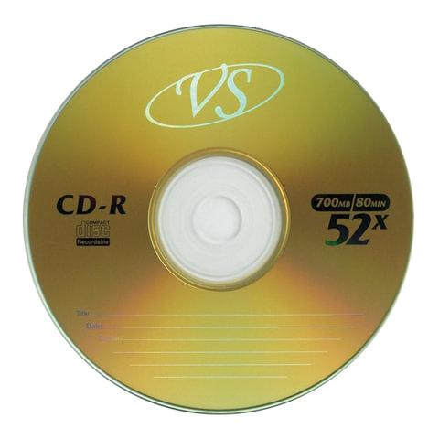 df4c144997ee2f44b276f31ccf2ef69d - Диск CD-R VS 700 Мб
