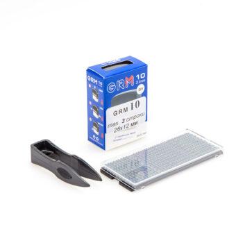 grm 10 diy 1 350x350 - GRM 10 DIY 3 lines, Самонаборный штамп 3 строки с одной кассой