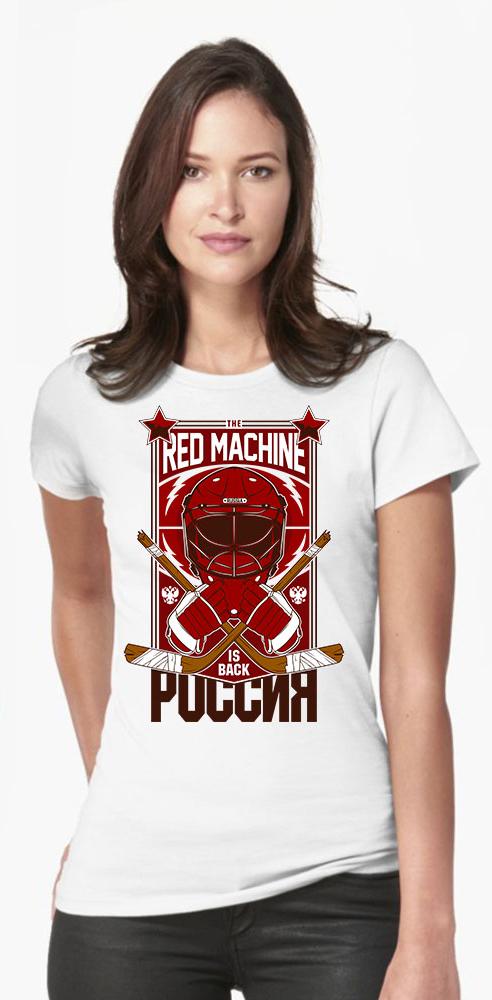 6 ftyg9 - Футболка женская - RED MACHINE