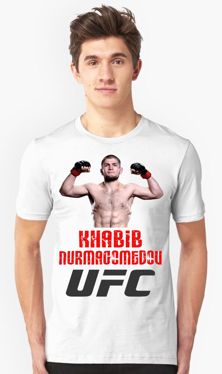 676a67 1 - Футболка - Хабиб Нурмагомедов UFC