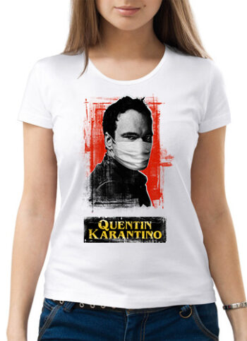 cb02781616d53ee875688b976beef4b217f394edb2f72 350x483 - Футболка женская - Quentin Кarantino - Квентин Карантино