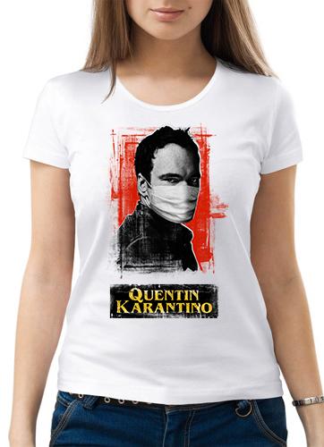 cb02781616d53ee875688b976beef4b217f394edb2f72 - Футболка женская - Quentin Кarantino - Квентин Карантино