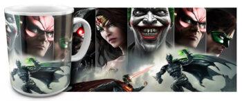 kr 11.21 350x146 - Кружка белая - Супер герои Джокер, Супермен, и др...