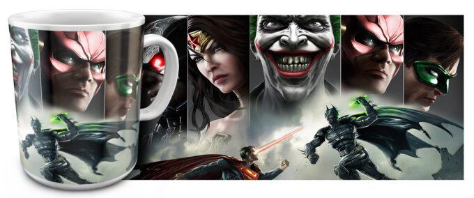kr 11.21 680x284 - Кружка белая - Супер герои Джокер, Супермен, и др...