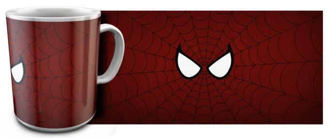 kr 11.4 680x284 - Кружка белая - Эмблема Человек паук