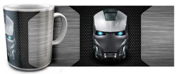 kr 11.8 350x146 - Кружка белая - Эмблема Железный человек сталь
