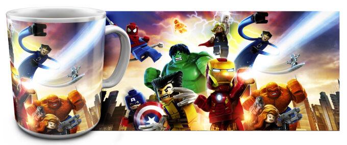 kr 2.14 680x284 - Кружка белая - Супер Герои Лего, Халк, Железный человек, Россамаха, Тор и д.р.