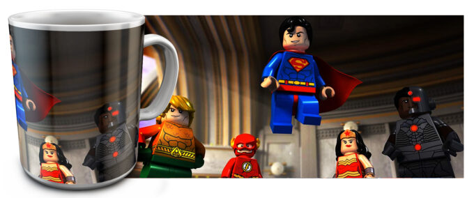 kr 2.17 680x284 - Кружка белая - Супер Герои Лего, Супермен