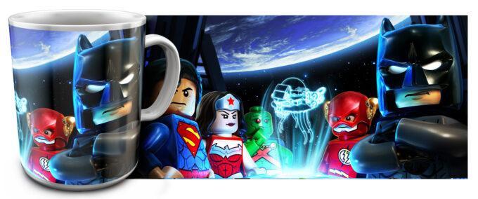 kr 2.19 680x284 - Кружка белая - Супер Герои Лего, Бэтмен, Флеш, Чудо Женщина