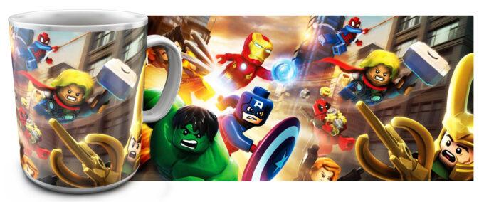 kr 2.21 680x284 - Кружка белая - Супер Герои Лего, Халк, Тор, Железный человек, Капитан Америка