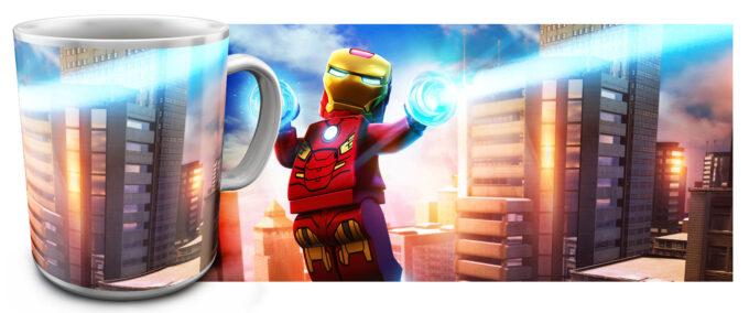 kr 2.6 680x284 - Кружка белая - Супер Герои Лего, Железный человек летает