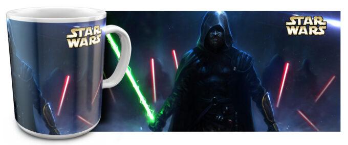 zv 07 680x284 - Кружка белая - Звездные войны, Эпизод VII: Пробуждение силы
