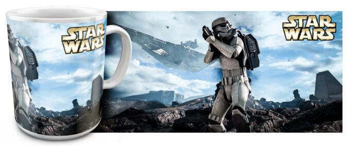 zv 12 680x284 - Кружка белая - Звездные войны, Штурмовик в атаке