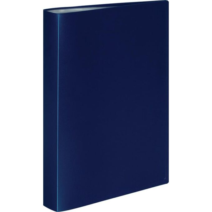 10590734778398 680x680 - Папка файловая на 60 файлов Attache A4 35 мм синяя (толщина обложки 0.6 мм)