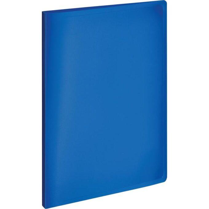 10724997955614 680x680 - Папка с зажимом Attache A4 0.35 мм синяя (до 120 листов)