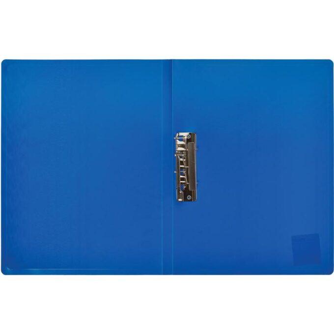 10724998348830 680x680 - Папка с зажимом Attache A4 0.35 мм синяя (до 120 листов)