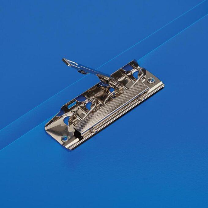 10724998742046 680x680 - Папка с зажимом Attache A4 0.35 мм синяя (до 120 листов)