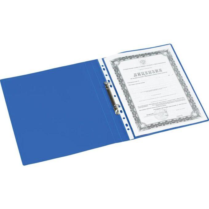 10741949399070 680x680 - Папка на 2-х кольцах Attache Economy 20 мм синяя до 130 листов