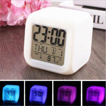 1 7 350x350 - Часы будильник LED