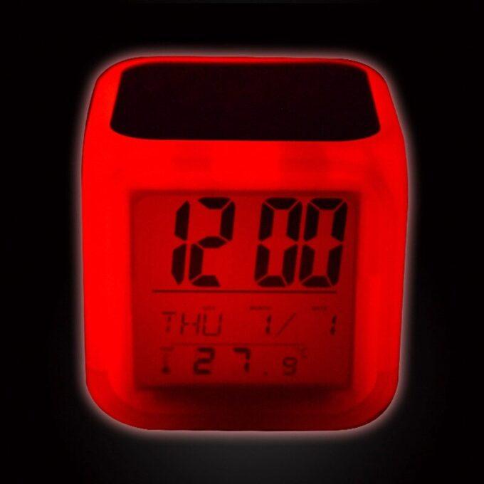 6 680x680 - Часы будильник LED